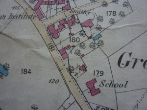 OS Map 1884, Showing the building that was the Bird