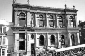 Walsall Guildhall, scene of both of Thomas' court appearances. (Walsall Local History Centre)