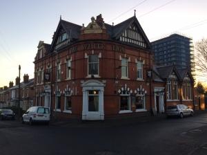 The White Lion, Little London: rebuilt in 1897. 2017.